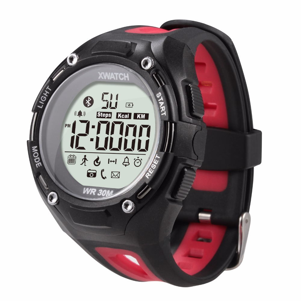 XWatch Outdoor Sport Smart Watch Waterproof Dust proof Night Visible Pedometer APP Sleep Monitor For Android