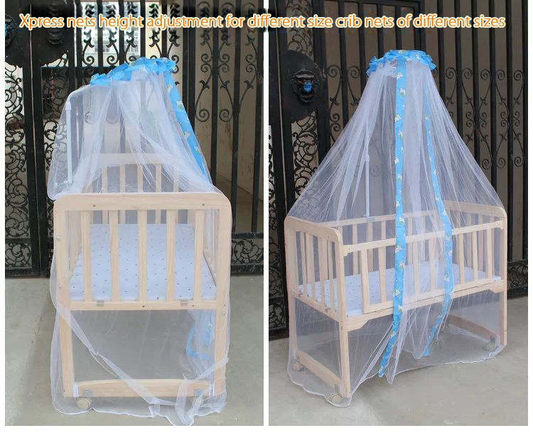 Baby Mosquito Net Toddler Bed Crib Canopy Netting White Free Lift Nets Stent In From Mother Kids On Aliexpress