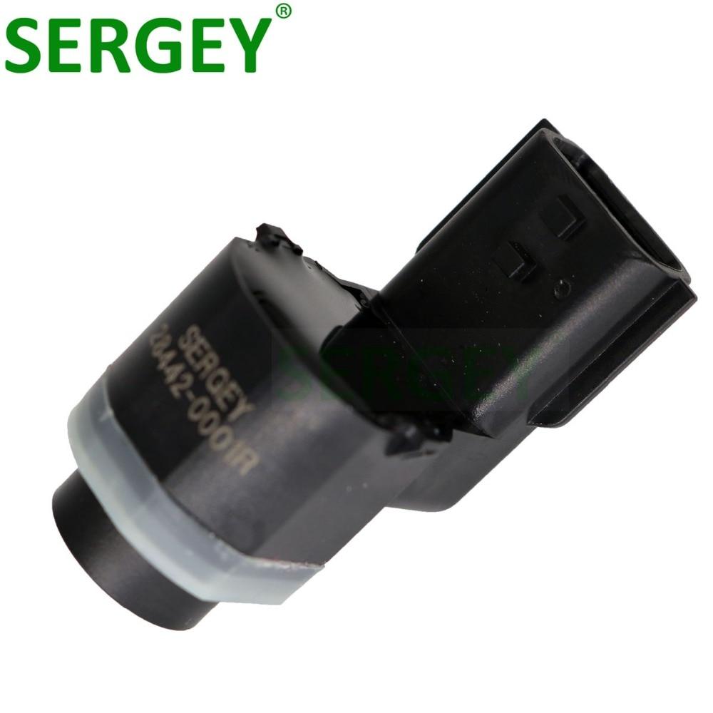 SERGEY Parking Assist Distance Control PDC Sensor 28442-0001R 28442 0001R 284420001R For RENAULT Megane III 3