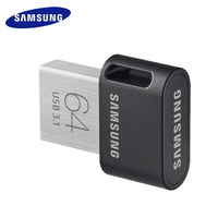 SAMSUNG USB3.1 FIT Plus USB Flash Drive 32G 64G 128G 256G-Pen Drive Крошечный Memory Stick устройства хранения данных U диска мини Flashdrive