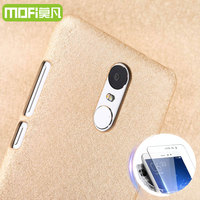 Xiaomi Redmi Note 3 Cover Gold Ultra Thin Luxury MOFi Original Frosted Leather Remi Note 3