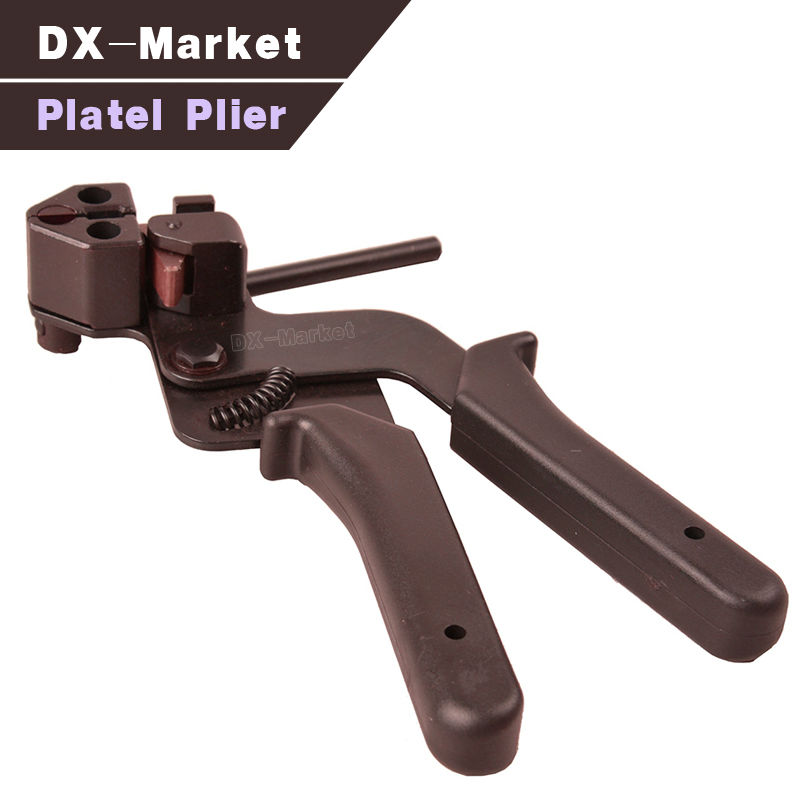 Outils fonctionnels multi de pince de platel, pince plate de nez outil d'attache d'acier pour la plaque d'acier inoxydable