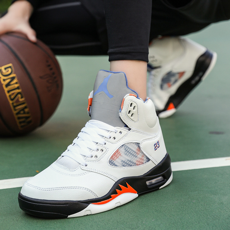 Basketball Shoes Men Retro High Top Air Cushion Adult Jordan Sports Shoes Mens Comfortable Breathable Outdoor Sneakers Jordan 9