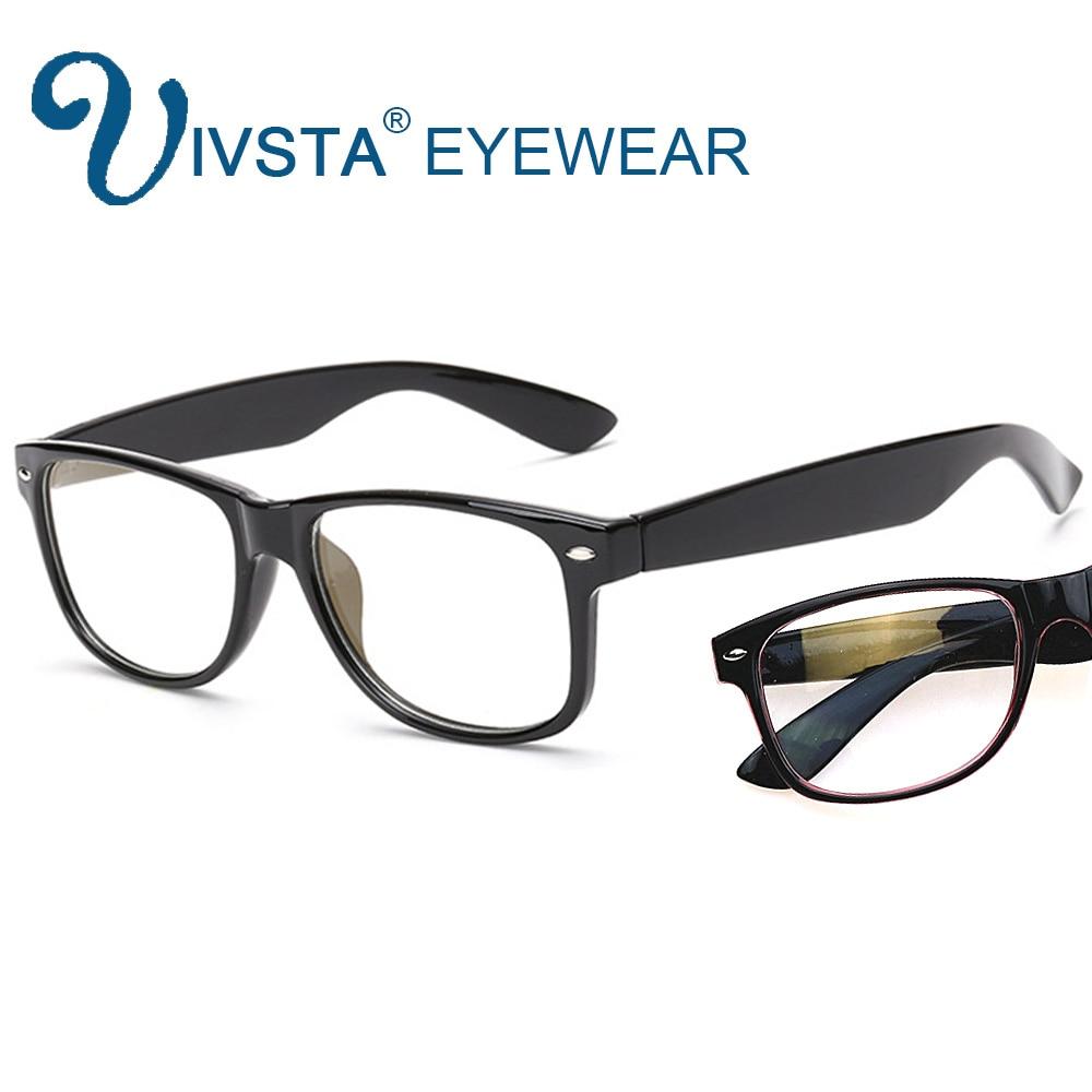 IVSTA Anti Blue Rays Computer Goggles Reading Glasses Square Radiation-Resistant Gaming Men Myopia Prescription Optical H081