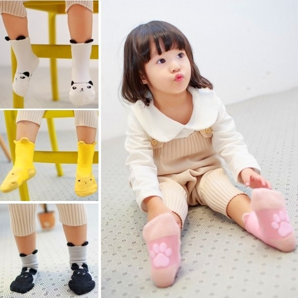 Newborn Baby Girls Socks Kids Boys Childrens Cotton Infant Boy and Girl Anti Slip Anti Skid High-quality Autumn and Winter 2016