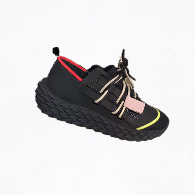 Véritable Designer Spring Femmes Chaussures Rétro Appartements Femelle Plate Noir blanc En New 2019 Luxe Tendance Décontracté Cuir De Dame forme Sneakers SzMVqUpG