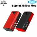 J150 originales Sigelei Mod 10 W-150 W de Salida con el Poder/SS/Ti/Ni200/TCR/Modo de TFR el Primer Polímero de Iones De Litio Interna Cuadro Mod