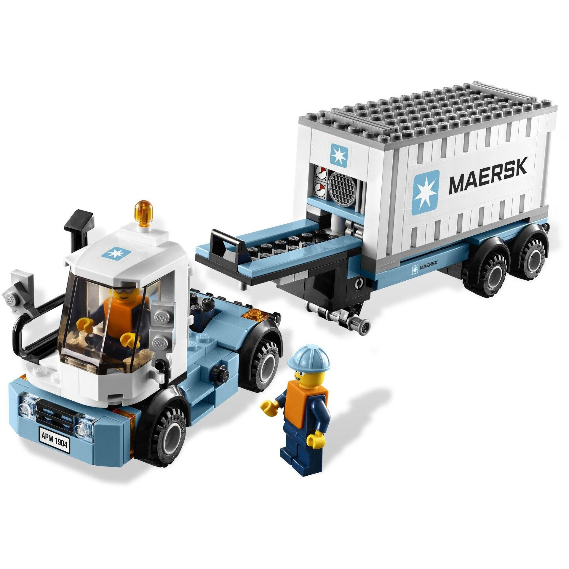 Lepin 21006 1234 pièces Véritable Créative Hors de Série D'impression Maersk LegoINGlys Train 10219 Assemblé En Bois Jouets Pour enfants