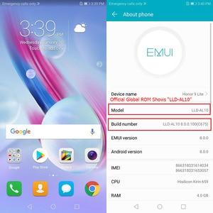 "Image 3 - Official Global Rom Honor 9 Lite 3GB 32GB 5.65"" Full Screen Mobile Phone Octa Core Dual Front Rear 13.0MP 2.0MP 3000mAh"