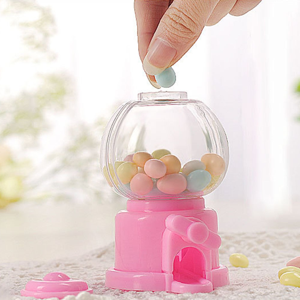 12pcs/Lot Mini Cute Lovely Baby Candy Storage Box/Candy Money Box Candy Bank Machine Gifts For Kids Toy Party Supplies