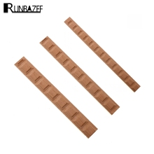 RUNBAZEF Wood Carving Solid Furniture Edge Border Square Line Carved Home Decor Decoration Accessories Craft Figurine Ornaments