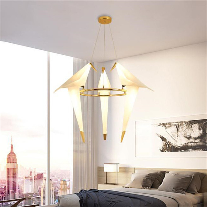 Colgante LED Lámpara Comprar Nordic Luminaria Suspensión 2EDH9YWI