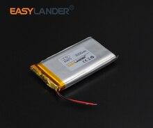 8x42x70mm  3.7V 3000mAh Rechargeable li-Polymer Li-ion Battery For bluetooth headset GPS PSP PDA MP3 MP4 speaker 804270 084270