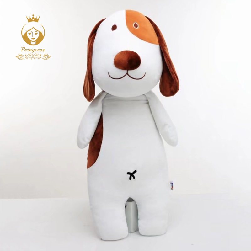 1PCS 80CM Cartoon Dog Pillow, Dog Plush Stuffed Toys, Large Cute Software Sleep Pillow, Children's Toys Gift 80cm large super cute plush toy dog bulldog husky shiba pug pillow down cotton filling as a gift to the children and friends