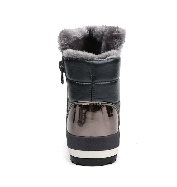 Shop Winter Waterproof Snow Boots High Quality Fur Ankle Shoes on sale