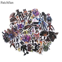 Patchfan 58pcs Five Nights at Freddy bears Kids Toy Sticker for DIY scrapbooking album Laptop Phone notebook decal A1535