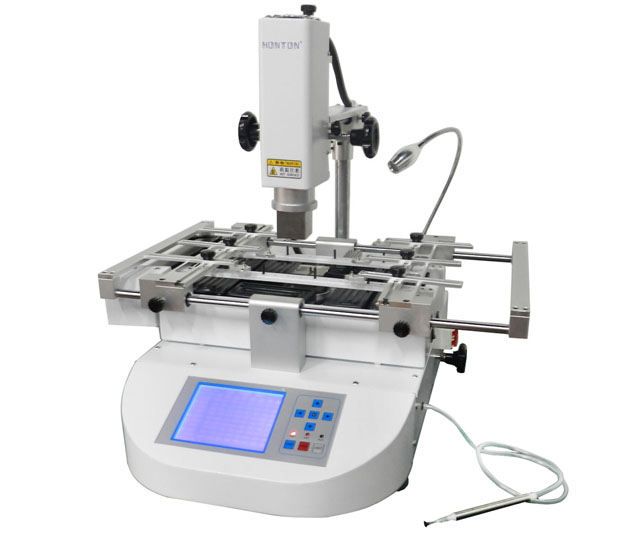 Honton HT-R490 BGA rework station soldering station,  good quality and easy use ,free tax to Russia ship to russia no tax jovy re8500 bga rework station re 8500 upgraded from re7500 soldering machine high quality