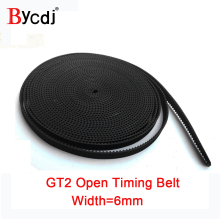 Timing-Belt Pulley GT2 Rubber 3d-Printer Small 6mm for Reprap Mendel CNC 2GT High-Quality