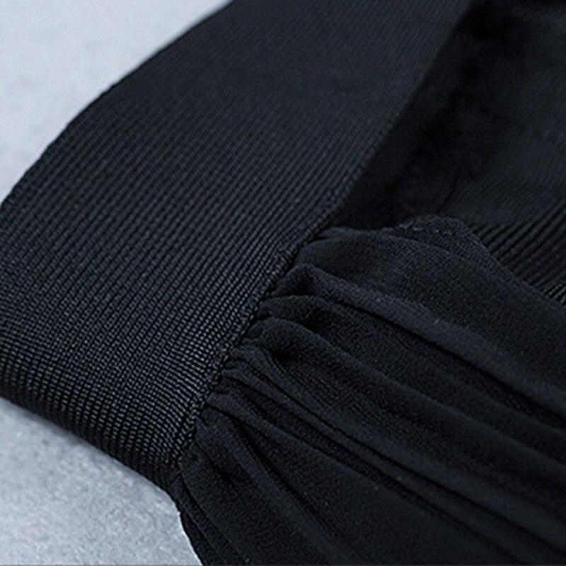 Nu Moulante Mode Dos Nouvelle Manches Creux Sexy Partie Robe De Piste Manteau Designer 2018 Sur Femmes zUwRA
