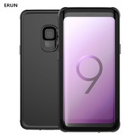 Case For samsungS9 Three Protective Mobile phone case Samsung S9 Plus Waterproof and Dust proof cover Outdoo