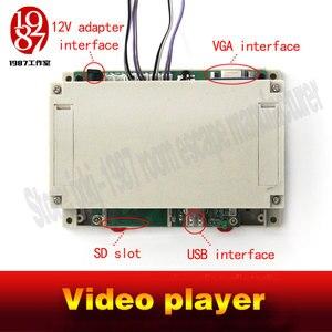 Image 3 - תא אבזר חדר וידאו נגן מתכת כפתור גרסה JXKJ1987 לחץ על בוטון כדי לקבל את וידאו רמזים איילה חדר בריחה אבזרי