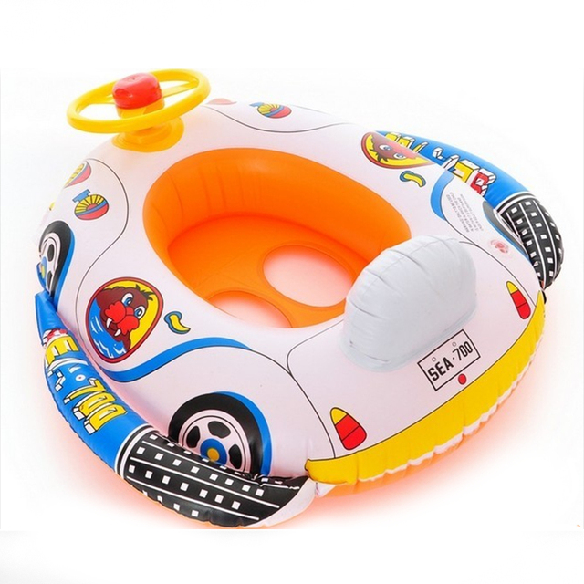 Funny Shape Inflatable Pool float Baby Swimming Ring Baby Float Seat For Pool Floats For Swimming Pool Baby Swimming New XNC