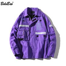 BOLUBAO Fashion Brand Jacket Men 2018 Spring Autumn Men s Solid Color Outerwear Coats Male Hip