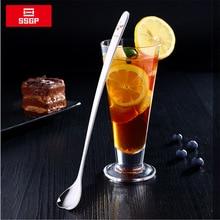 Heart-Shaped-Spoon Coffee Long-Handle Korean Stir Cute 304-Stainless-Steel with 26cm