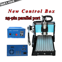 25 pin parallel port 3020Z S CNC3020 800W Spindle 1 5kw VFD CNC Router water cooling