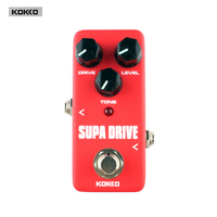 Guitar Parts Accessories KOKKO FOD5 Supa Drive Classical Digital Delay Effects Pedal For Electric Guitar Guitar