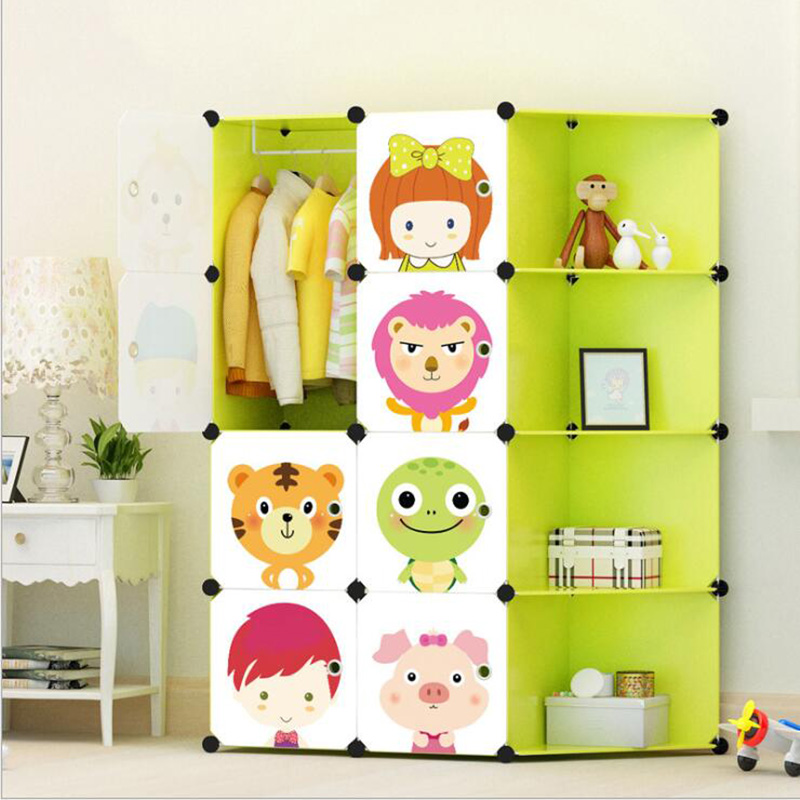 2019 Childrens cartoon DIY wardrobe eco-friendly resin lockers toys storage assembly lockers wardrobes Cabinets free shipping2019 Childrens cartoon DIY wardrobe eco-friendly resin lockers toys storage assembly lockers wardrobes Cabinets free shipping