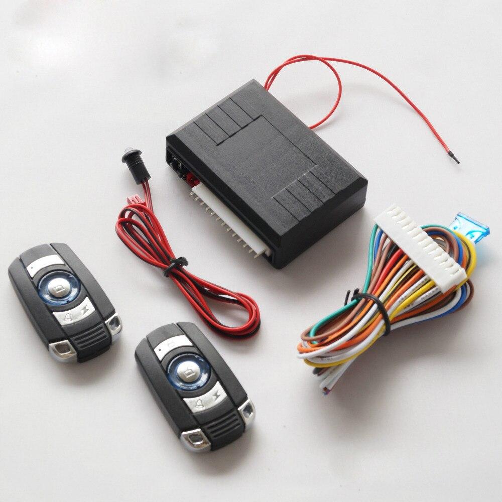 12v Car Alarm System Keyless Entry Push Button Start: 12V Car Alarm System Push Start Stop Button Keyless Entry