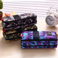 High Quality Large HOT School Canvas Pencil Case Bag Box 31738A Show Of Strength For Girls