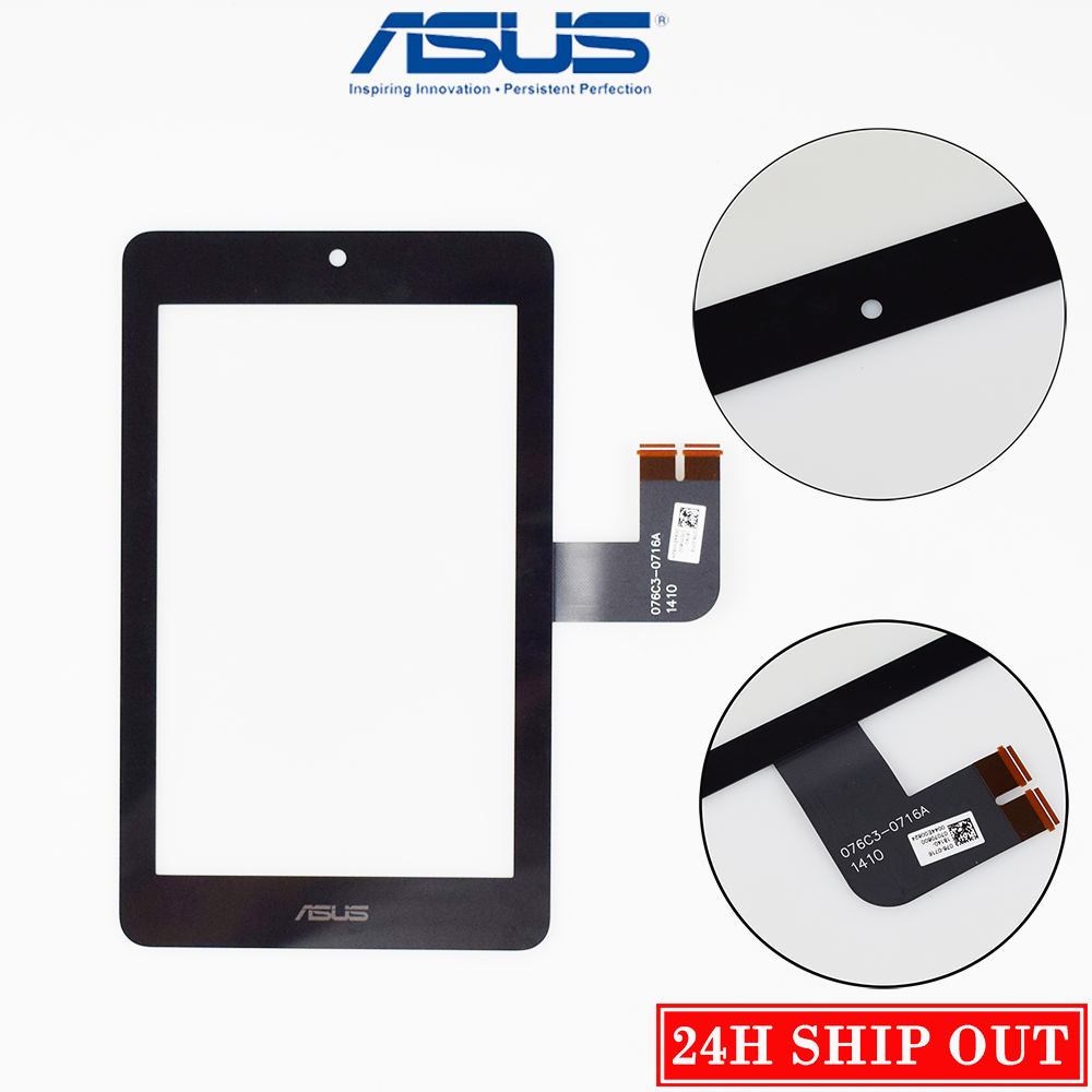 Original 7 Inch For Asus MeMO Pad HD7 ME173 ME173X K00B Touch Screen Panel Digitizer Glass Lens Replacement Black