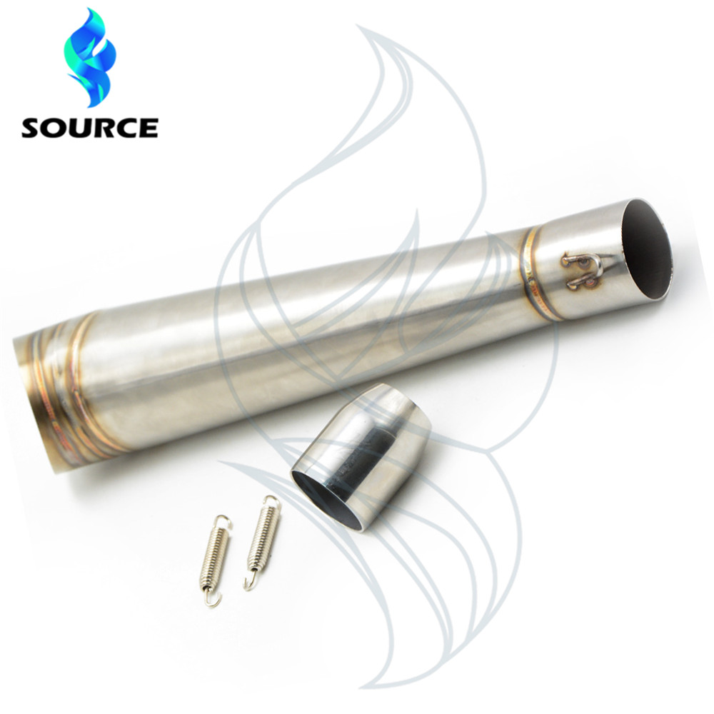 Modified motorcycle muffler stainless steel fried tube gp exhaust pipe For Yamaha Tmax 500 530 XJR 400 1300 motorcycle cnc magnetic engine oil filler cap moto bike engine oil cap for xjr fjr 1300 fzr 1000 tmax 530 500 tmax 530 tmax 500