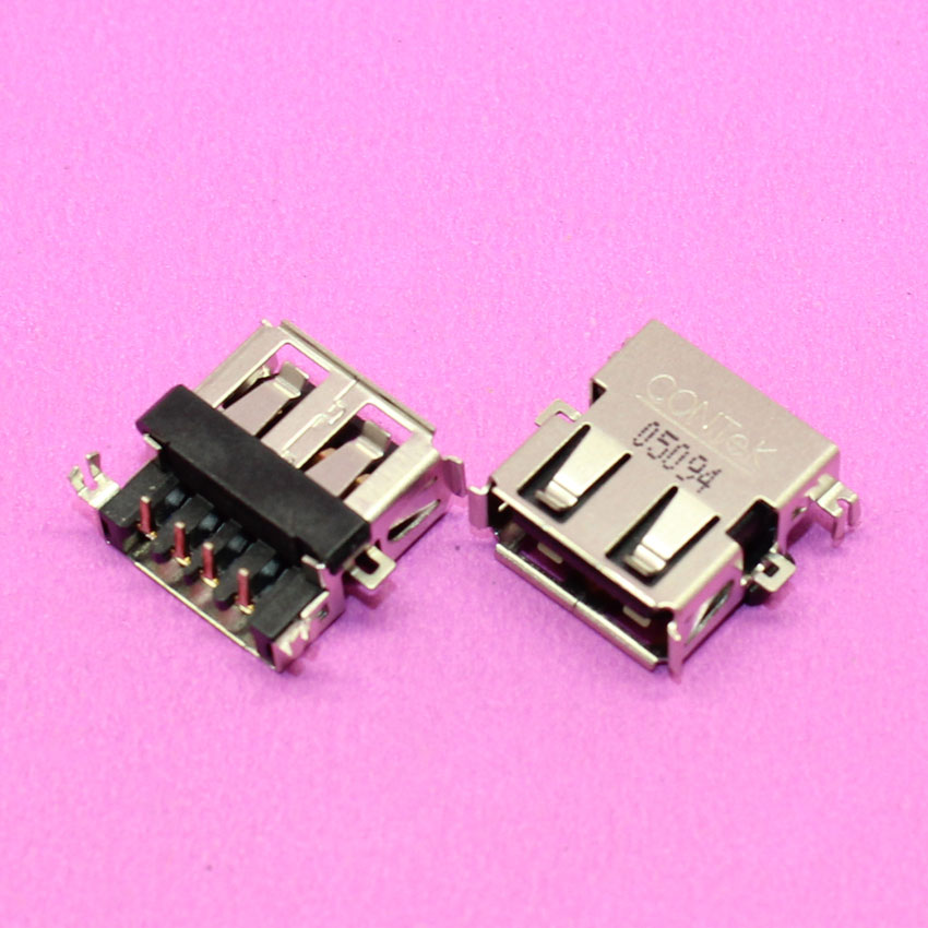 YuXi 2.0 USB JACK Brand New Notebook Laptop USB Jack for Lenovo / asus / DELL / HP / Acer 4810 5410 5810 T TG TZ TZG, H=4.3MM brand new dc power jack for asus g71 g71g g71gx g73 g73j g73jh g73jw g73sw x83 x83v x83vm m50vn m50s m50v m51v 2 5mm