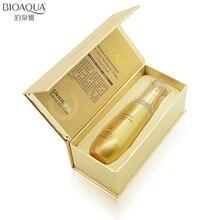 BIOAQUA Snail Whitening Essence Skin Care Hyaluronic Acid Liquid Anti Wrinkle Anti Aging Collagen Moisturizing Day Cream Oil