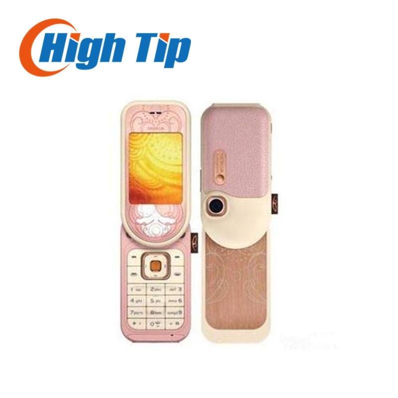 Original Unlocked NOKIA 7373 mobile phone Bluetooth MP3 Camera Vedio FM Classic Cheap Cell phone 1year