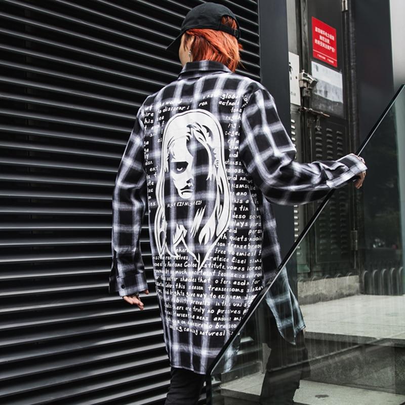 Harajuku Hip Hop Style Full Sleeve Shirt 2