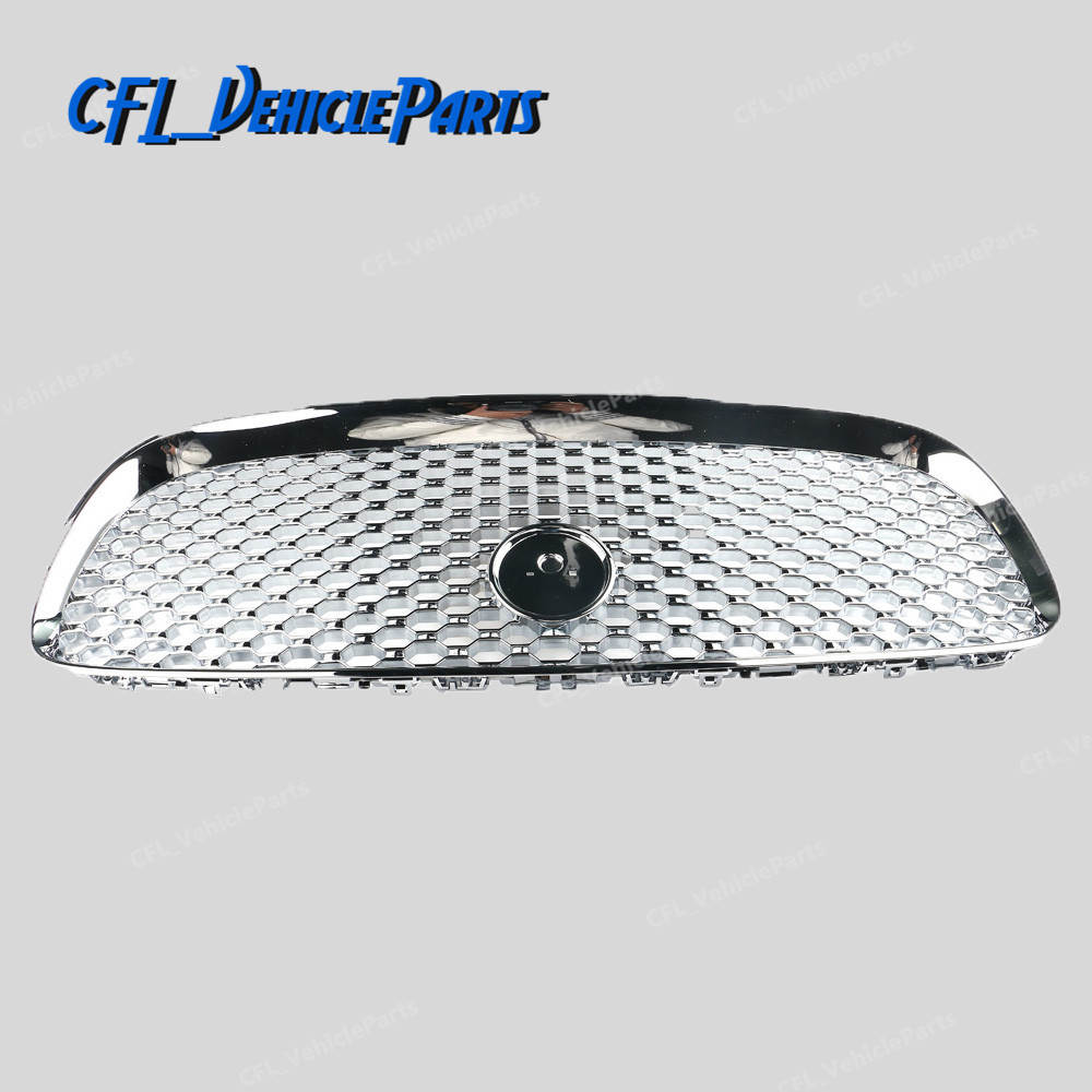 All Chrome Front Center Grill Grille Mesh T2H3989 For