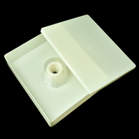 Popular New Plastic white Bee Feeder Durable Beekeeping Equipment/Tool