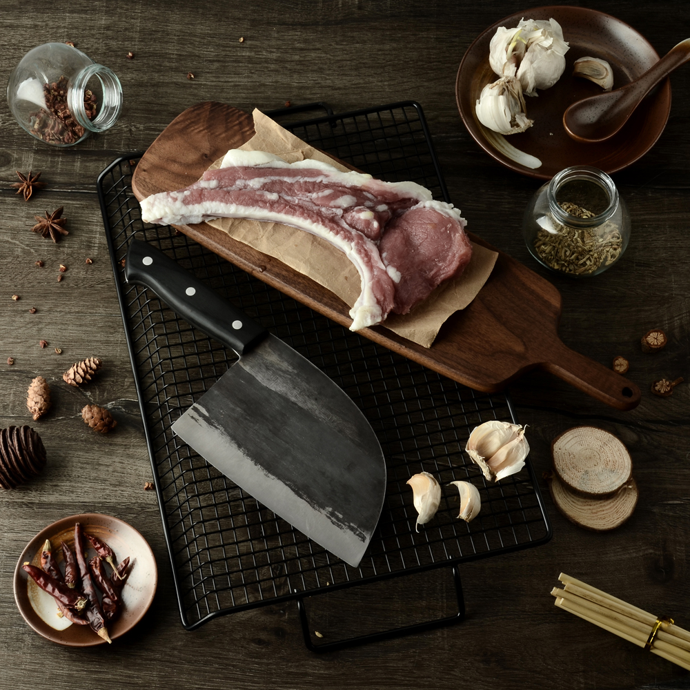 hand forged butcher knives | Letcase Knives