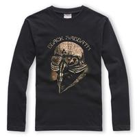 BLACK SABBATH Long Sleeve T shirt Men 3D Print Cotton Pattern Hip Hop T shirts O neck 100%cotton 220 GMS S XXL Black T shirt Men