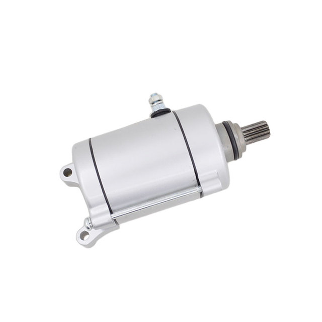 Motorcycle Engine Electric Starter Motor For Zongshen Lifan Loncin CG200  CG250 CG 200 250 Reversal Spare Parts