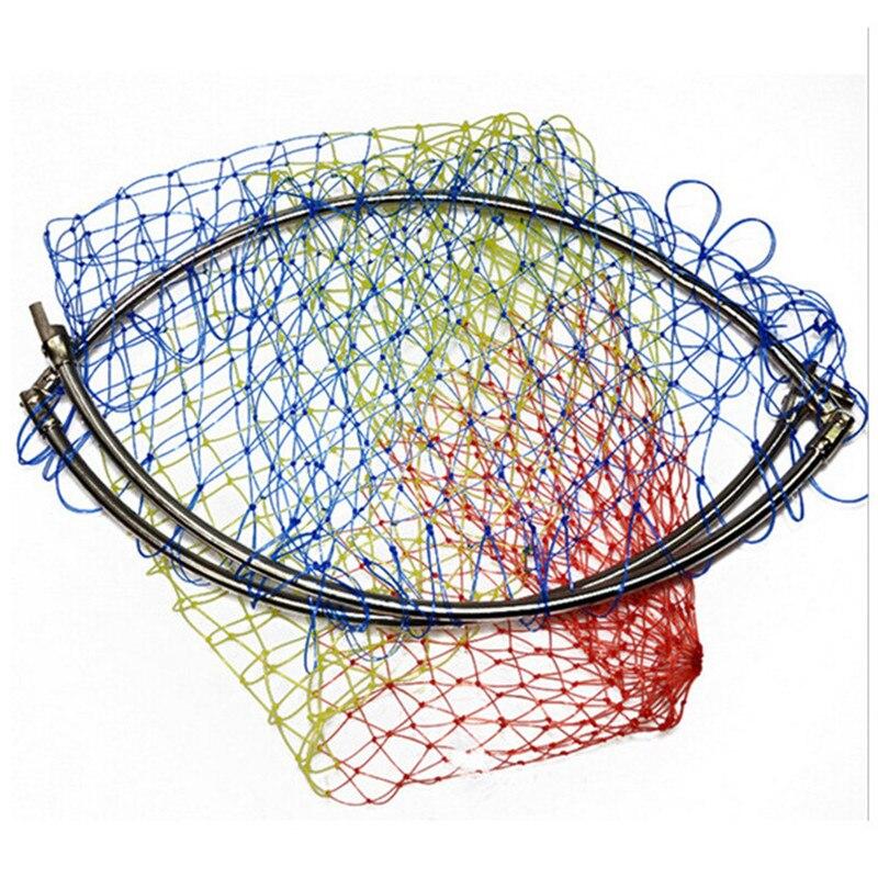 Çapı 40 cm-50 cm angler dip net renkli iniş için net net net - Balık Tutma - Fotoğraf 6