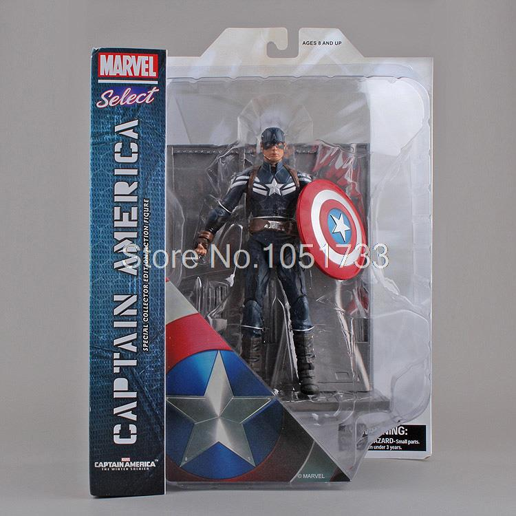 The Avengers Captain America Special Collector Edition PVC Action Figure Collectible Toy 7 18CM the avengers 2 captain america 1 6 scale movable pvc action figure collectible model toy doll 32cm hot
