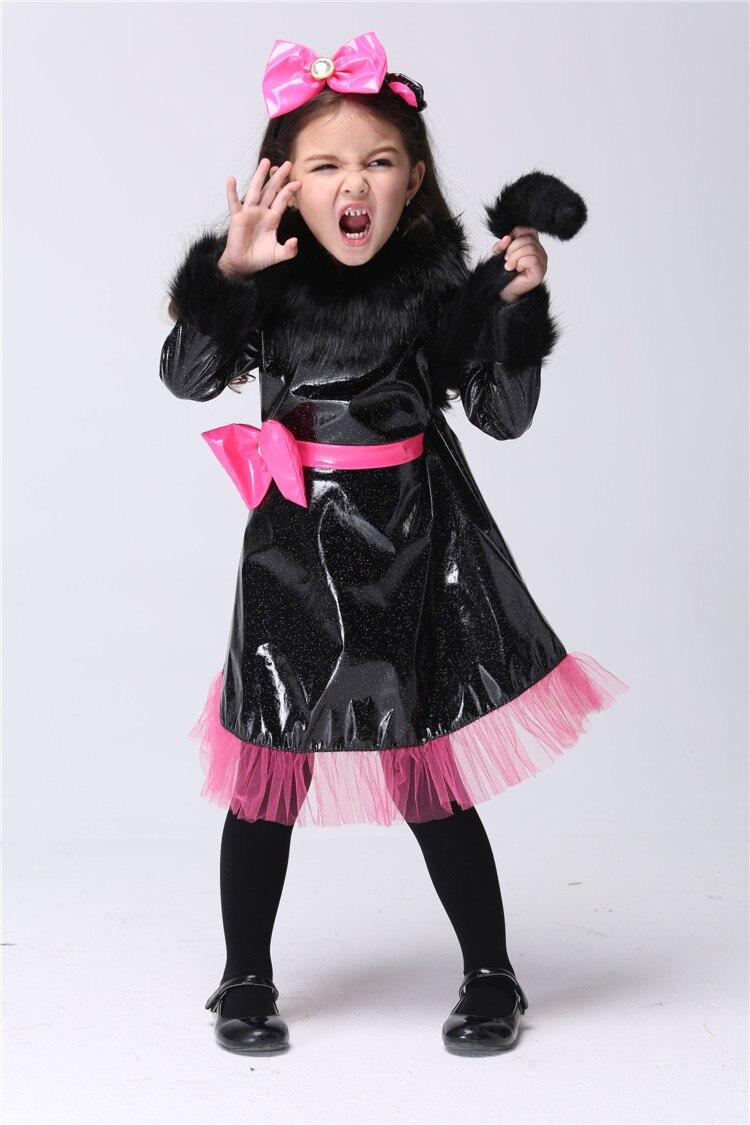 Popular Kids Black Cat Halloween Costume-Buy Cheap Kids Black Cat ...