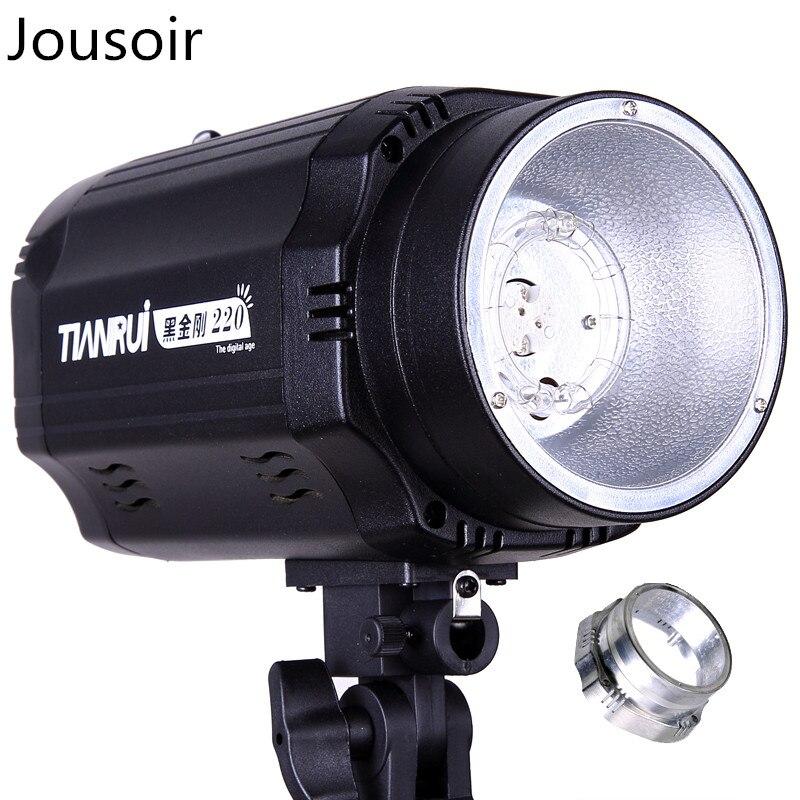 Flash tête 220 W flash lumière studio lampe tête photographie studio costume portrait photographie équipement CD50