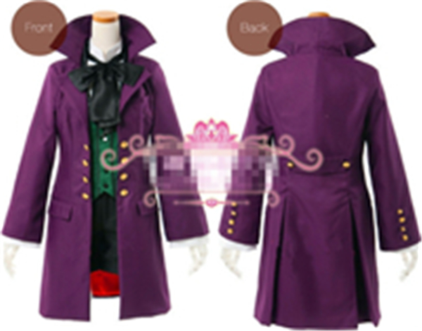 Здесь продается  New Clothing Hot Anime Black Butler II Alois Trancy Uniform Cosplay Costumes Full Set Custom   Coat+Pants+Tie+Shirt  Одежда и аксессуары
