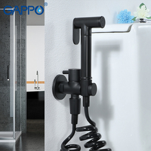 GAPPO Bidets black bathroom shower bidet toilet sprayer muslim shower bidet faucet wall mount washer mixer taps